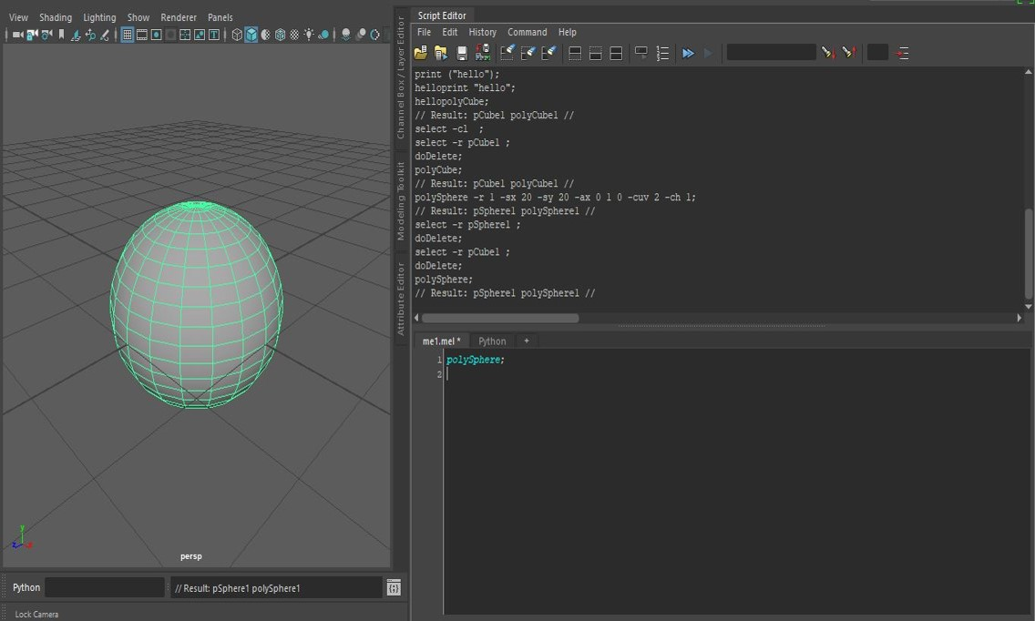 An Introduction to Maya Embedded Language (MEL) | GradeSetter